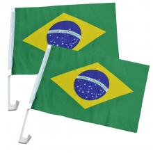 Kit Bandeiras de Carro
