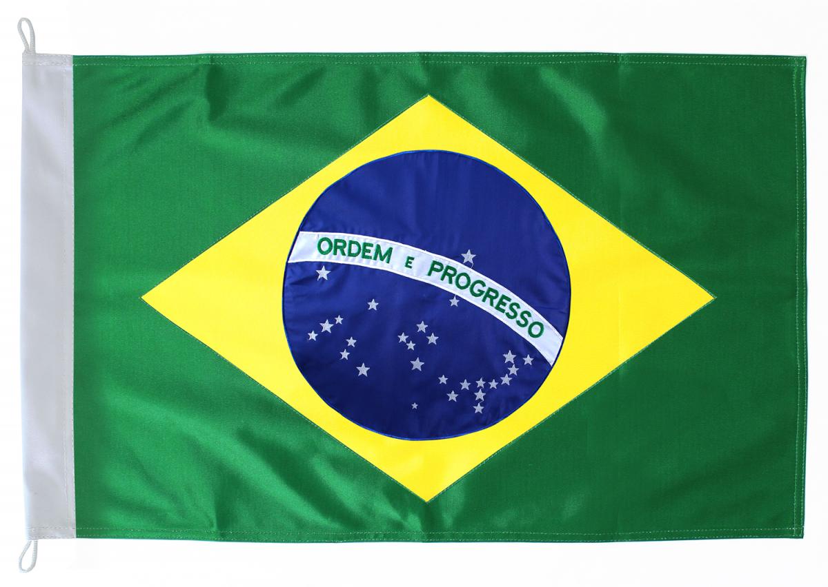 Brasil Brasil Bordada | Bandeira Shop