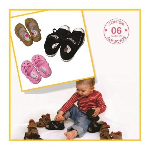 Adesivo para Sapato - Qual é o pé?