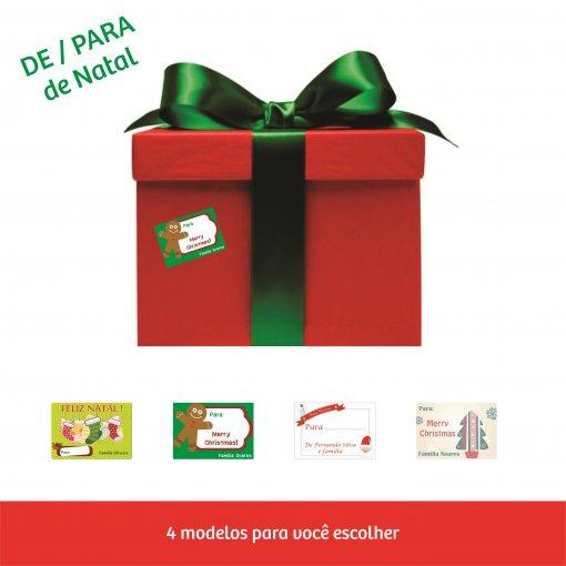 Adesivos DE-PARA - Natal