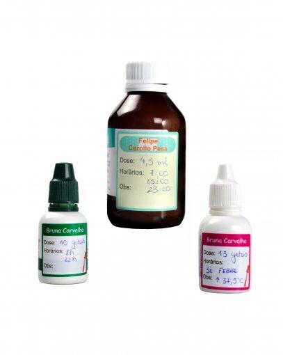 Adesivos para Remédios