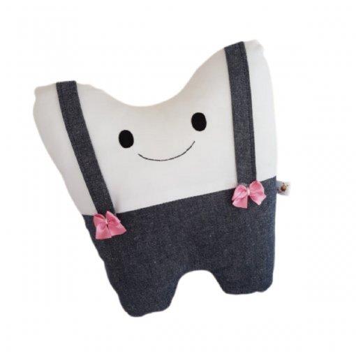 Almofada Dentinho Tchau Chupeta | Fada do Dente - Lacinho