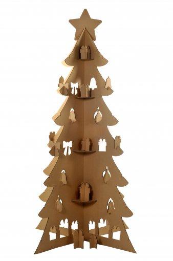Árvore de Natal de Papelão (grande)