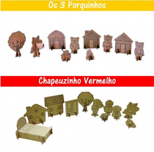 Brinquedos de Papelão - Histórias Infantis