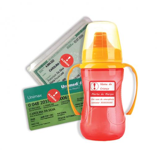 Etiqueta de Alerta - Alergia em Geral