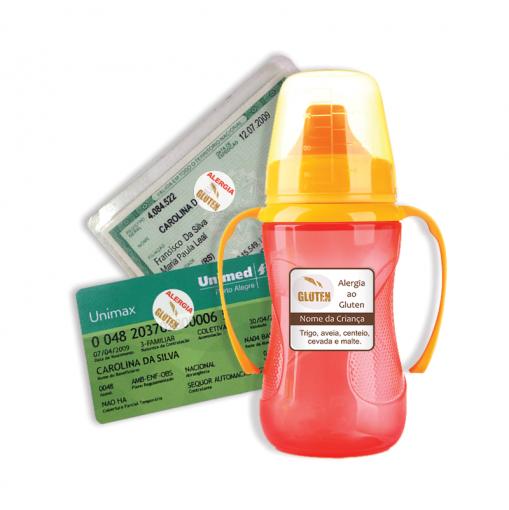 Etiqueta de Alerta - Alergia Glúten