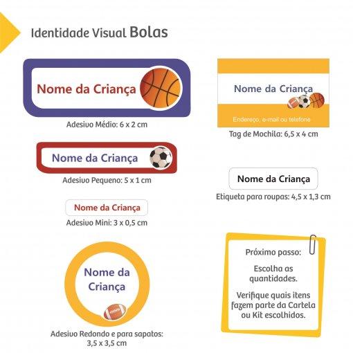 Etiquetas Escolares: Esportes e Diversão