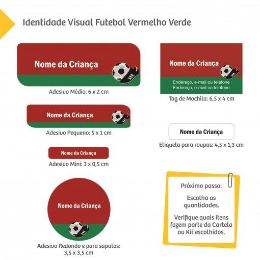 Etiquetas Escolares: Futebol