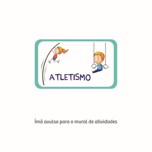 Atletismo (Ímã para o Mural de Atividades)