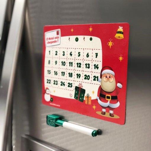 Imã de Geladeira: Calendário de Natal