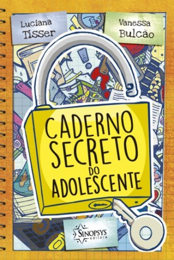 Livro Infantil: Caderno secreto do adolescente