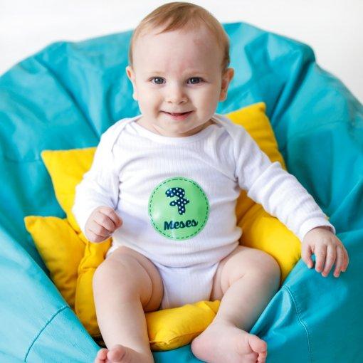 Mesversário: Adesivos mês a mês infantil