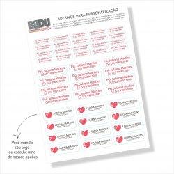 Imagem -  Adesivos de Personalização para Profissionais cód: 912