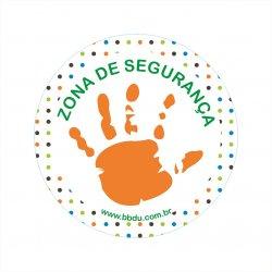 Adesivo de Segurança Infantil: Zona de Segurança