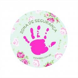 Imagem - Adesivo de Segurança Infantil: Zona de Segurança - v1046