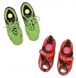 Imagem - Adesivo para Identificar Sapatos - Esportes e Diversão cód: 650