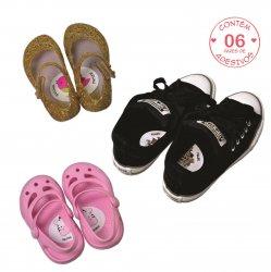 Imagem - Adesivo para Sapato - Qual é o pé? cód: v1068