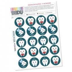Imagem - Adesivos de Incentivo - Ir ao Dentista cód: 2555