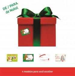 Imagem - Adesivos DE-PARA - Natal cód: 680