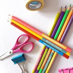 Imagem - Adesivos Escolares: Frases de Incentivo cód: 919