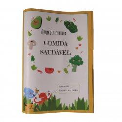 Imagem - Álbum de Figurinhas - Comida Saudável cód: 471