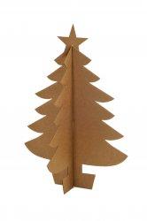 Imagem - Árvore de Natal de Papelão (pequena) cód: 256