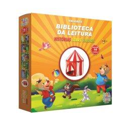 Imagem - BIBLIOTECA DA LEITURA - 10 HISTORIAS SOBRE VALORES + 1 Barraca cód: 2471