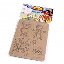 Imagem - Brinquedo de Papelão - Circo cód: 1065