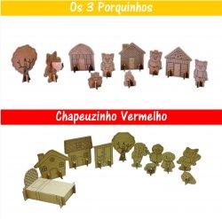 Imagem - Brinquedos de Papelão - Histórias Infantis cód: 675
