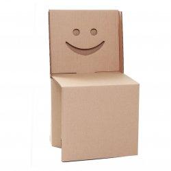 Imagem - Cadeira Sorriso - de papelão cód: 222