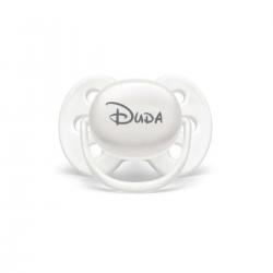 Imagem - Chupeta Personalizada AVENT  0 a 6 meses   Branca   Modelo Ultra Soft cód: 2560