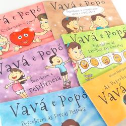 Imagem - Coleção Vavá e Popó: Psicologia Positiva para Crianças cód: 2364