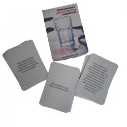 Imagem - Enfrentando Pensamentos Negativos: 100 Cards para Contestar Distorções Cognitivas cód: 2424