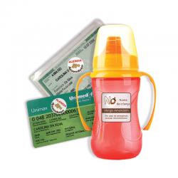 Etiqueta de Alerta - Alergia Amendoim