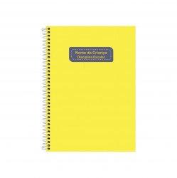 Imagem - Etiqueta Escolar para Livros e Cadernos (Nome e Disciplina) - Color cód: 645