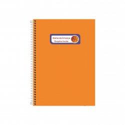 Imagem - Etiqueta Escolar para Livros e Cadernos (Nome e Disciplina) - Esportes e Diversão cód: 644