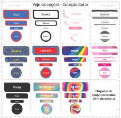 Imagem - Etiquetas Escolares | Color | Kit Médio cód: 1540