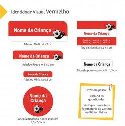 Imagem - Etiquetas Escolares: Futebol - V1538