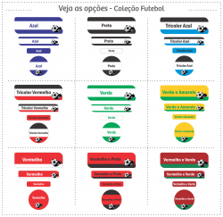 Imagem - Etiquetas Escolares | Futebol | Kit Mega cód: 1141
