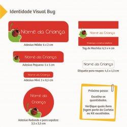 Imagem - Etiquetas Escolares: Meninas - V1513