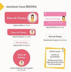 Imagem - Etiquetas Escolares: Princesas - V1579