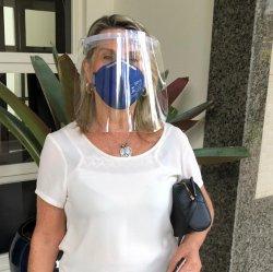 Imagem - Face Shield ADULTO - Máscara de Proteção Facial cód: 1153