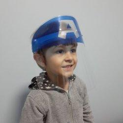 Imagem - Face Shield Infantil - Capitão América (Máscara de Proteção Facial) cód: 1243