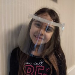 Imagem - Face Shield Infantil - Máscara de Proteção Facial - Gelo cód: 1119