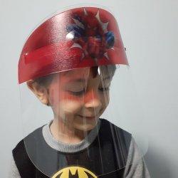 Imagem - Face Shield Infantil - Homem Aranha (Máscara de Proteção Facial) cód: 1656