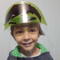 Imagem - Face Shield Infantil - Hulk (Máscara de Proteção Facial) cód: 1242