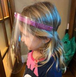 Imagem - Face Shield Infantil - Máscara de Proteção Facial - Rosa cód: 1150