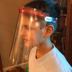 Imagem - Face Shield Infantil - Máscara de Proteção Facial - Vermelha cód: 1151