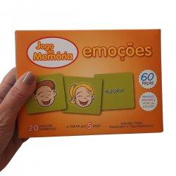 Imagem - JOGO DE MEMÓRIA: MEMÓRIA DAS EMOÇÕES cód: 2529