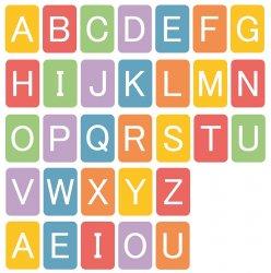 Imagem - Kit Imã alfabeto cód: 1725